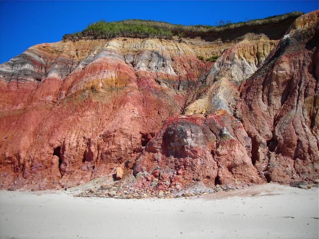 The Gay Head Cliffs