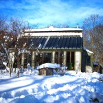 Snow slides off quickly, and the amazing solar heat and electricity production proceeds.